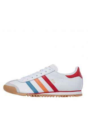 adidas rom trainers EG6746 white / red