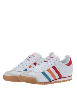 ROM Trainers - White / Red