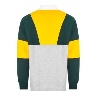 Rugby Shirt – Yellow / Grey / Green