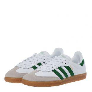 Samba OG - White / Green