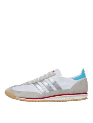 adidas sl72 trainers EF5106, white / grey
