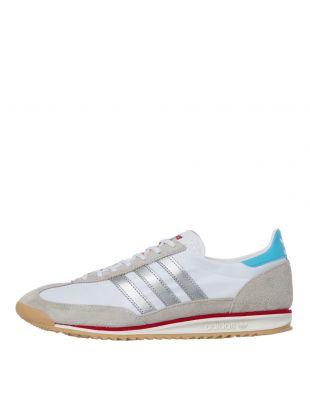 adidas sl72 trainers EF5106, white / grey