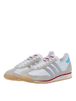 SL72 Trainers - White / Grey