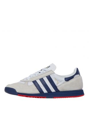 adidas SL 80 Trainers | FV4417 White / Grey / Navy