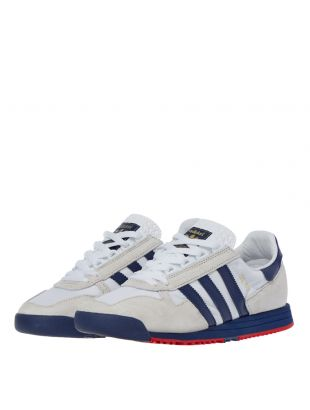SL 80 Trainers – White / Grey / Navy