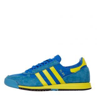 adidas sl80 trainers|FV4029 blue / yellow / green