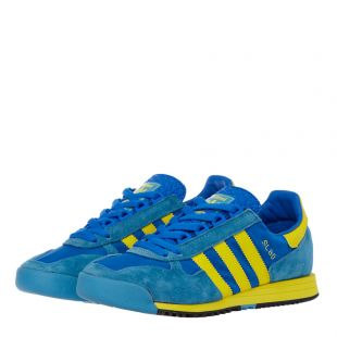 SL80 Trainers - Blue / Yellow