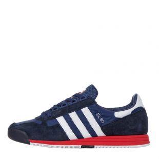 adidas sl80 trainers|FV4415 navy / white