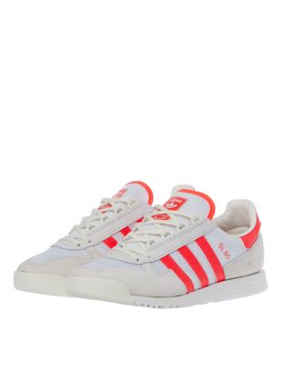 SL80 Trainers - White / Red