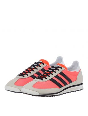 SL 72 Trainers - Red / Black / Beige