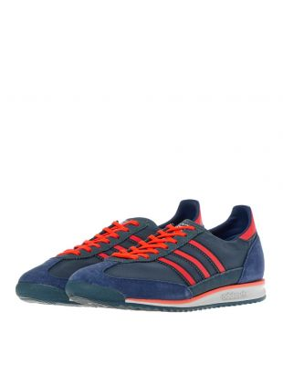 SL 72 Trainers - Blue / Red