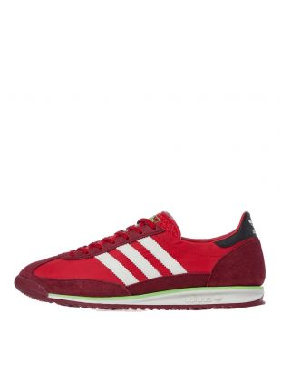 adidas SL 72 Trainers | EF5108 Red / White