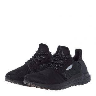 Pharrell Williams SolarHu Glide Trainers - Black