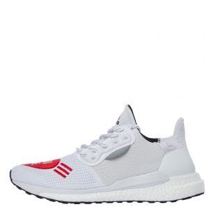 adidas x Human Made Solar Hu Trainers   EG1837 White