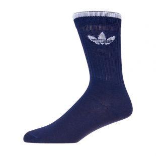 adidas originals two pack socks DW3936 white/navy
