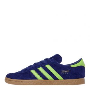 adidas Stadt Trainers | EE5727 Blue / Green