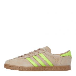 adidas Stadt Trainers | EF5724 Beige / Solar Yellow