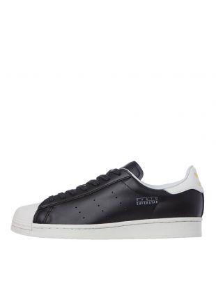 Adidas Superstar Pure Paris Trainers | FV3015 Black