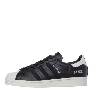 adidas Originals Superstar Trainers | FV2809 Black / White