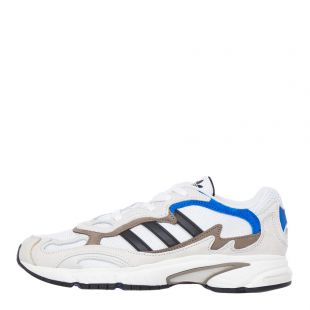 adidas temper runner trainers EE7737 white / blue