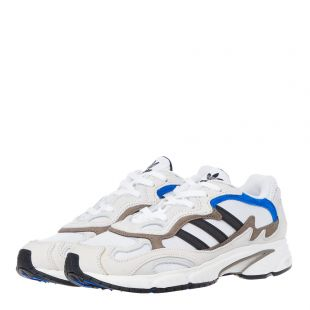Temper Runner Trainers - White / Blue