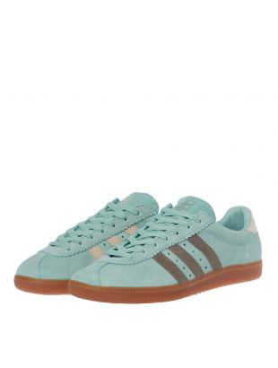 Padiham Trainers - Green / Brown