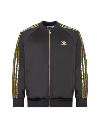 Adidas Track Top Zipped SST 24 TT|GK0658 Black / Gold|Aphrodite1994