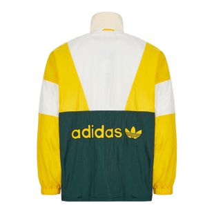 Track Top - Yellow / White / Green