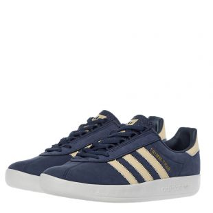 Trimm Trab Samstag Trainers – Collegiate Navy / Easy Yellow