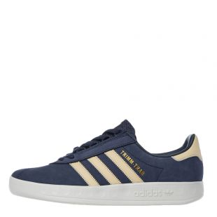 adidas Originals Trimm Trab Samstag Trainers | EE5628 Collegiate Navy / Easy Yellow