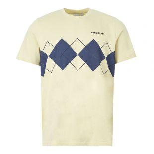 adidas T-Shirt Argyle | FM3420 Sand