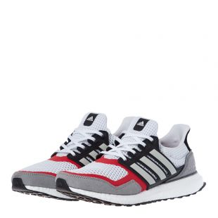 Ultraboost Trainers - White / Grey / Red