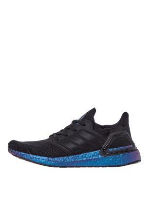 adidas Ultraboost 20 Trainers | EG1341 Black / Blue