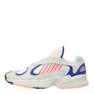 adidas Yung-1 Sneakers BD7654 White/Pink/Royal