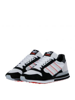 ZX 500 Trainers - White / Black