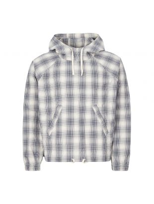 Smock - Ecru / Navy Check
