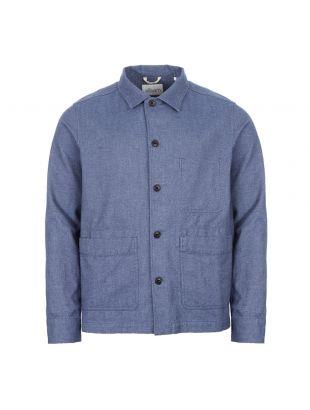 albam overshirt ALM511525120 072 blue