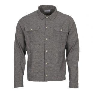 Albam Press Shirt ALM511063118 002 in Grey