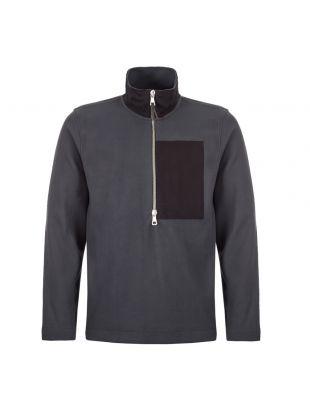 albam sports zip fleece ALM21149120 001 black