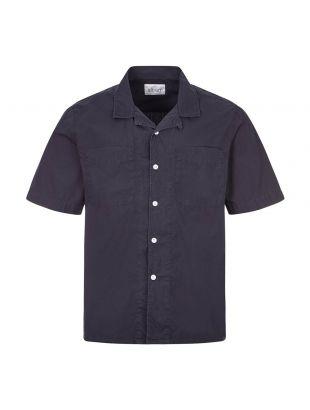 Albam Short Sleeve Shirt | ALM521768220 002 Navy