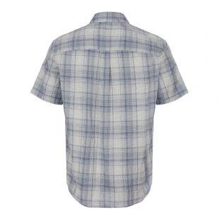 Short Sleeve Shirt – Blue / White