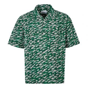 Albam Short Sleeve Shirt | ALM511487219 063 Green