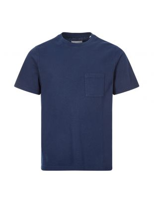 albam t-shirt workwear   ALM611632120 002 navy