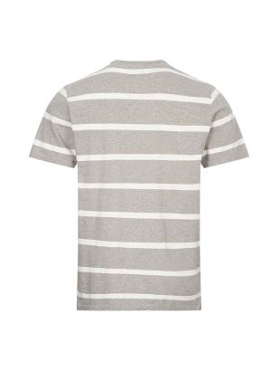 T-Shirt Stripe - Grey / Ecru