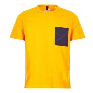 Nylon Pocket Tee - Yellow