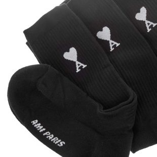 3 Pack Socks - Black