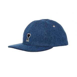 AMI Cap | E20HA213 601 Denim Blue
