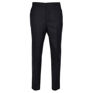Ami Carrot Fit Trousers E18T103 200 410 Navy