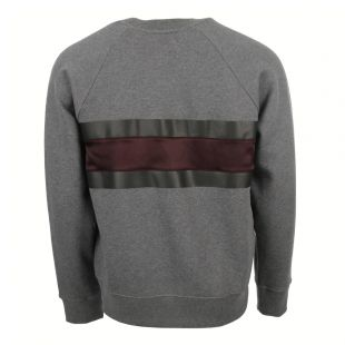 Sweatshirt - Grey / Plum