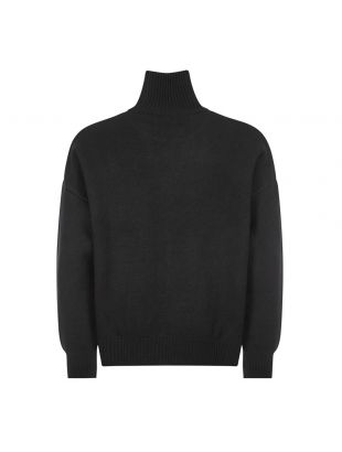 Sweater Funnel Neck  - Black
